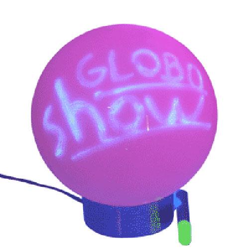 Luminária de globo