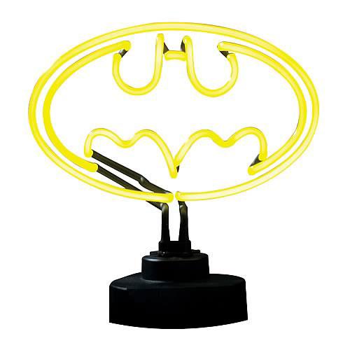 Símbolo de neon Batman