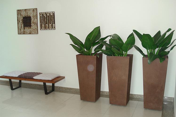 Jardinagem em vaso verde para quem tem pouco espa o for Vaso grande