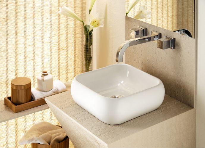 Banheiros confira uma seleção de cubas, vasos sanitários e bidês  Casa e De # Cuba Para Banheiro Celite