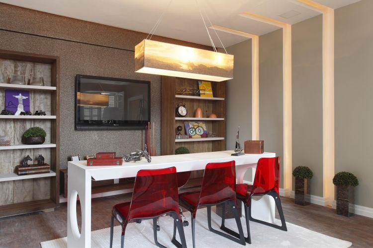 Espaço do Executivo projetado por Fabiana Carvalho para a exposição