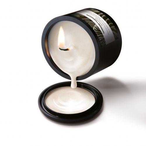A vela decorativa