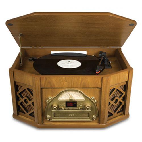 Para a mamãe ouvir suas músicas em clima retrô o toca discos de vinil