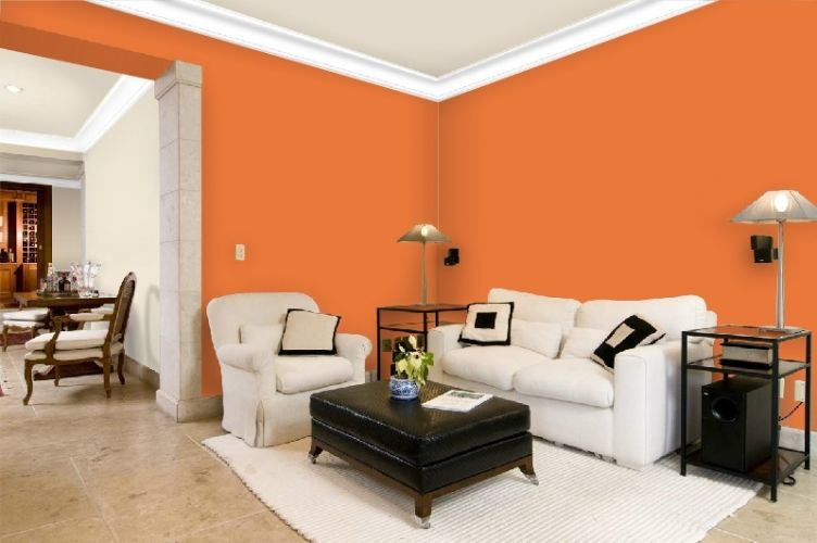 Sala De Estar Cor Laranja ~  de convivência da casa, como as salas de estar, e combinam muito bem