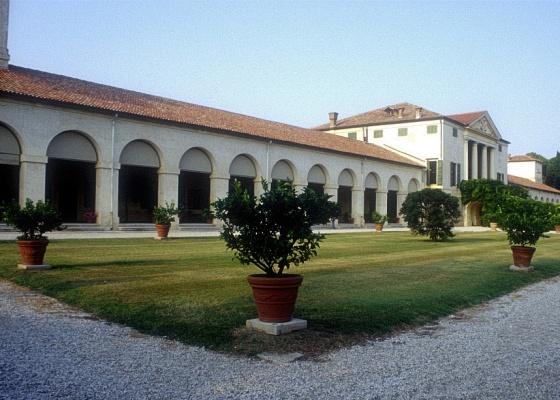 Vila Emo, em Treviso, na Itália, uma das diversas obras do arquiteto italiano Andrea Palladio - Divulgação/MCB