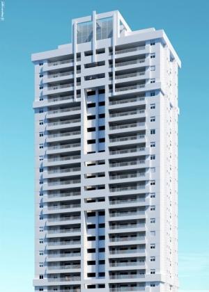Perspectiva do projeto residencial Serenitá, da Tecnisa, no Jardim Anália Franco, em São Paulo - Divulgação