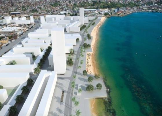 Perspectiva de projeto de reurbanização da Cidade Baixa em Salvador (BA) feito pelo escritório Brasil Arquitetura - Brasil Arquitetura/Divulgação