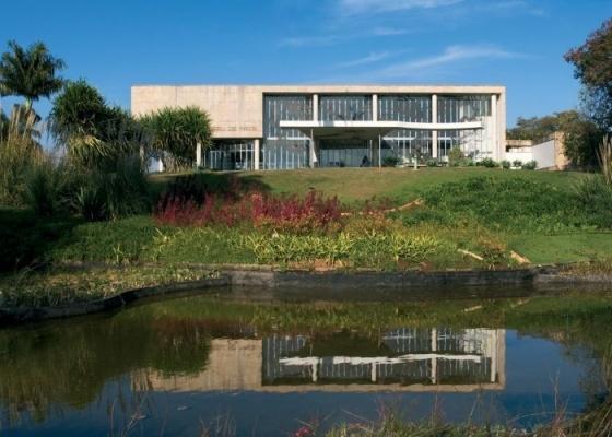 O Cassino (Museu) Parque da Pampulha (1943), projeto de Oscar Niemeyer em Belo Horizonte - Divulgação/Instituto Tomie Ohtake