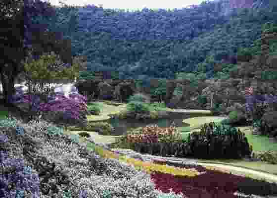 A Fazenda Marambaia, projeto do paisagista Burle Marx, em Petrópolis (RJ) (1947) - Divulgação/Editora Senac São Paulo
