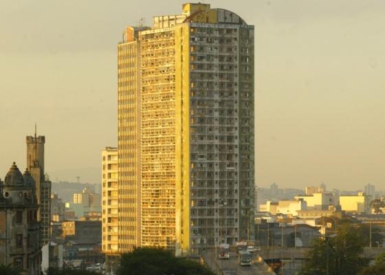 O edifício São Vito, no Parque Dom Pedro, em São Paulo (SP)