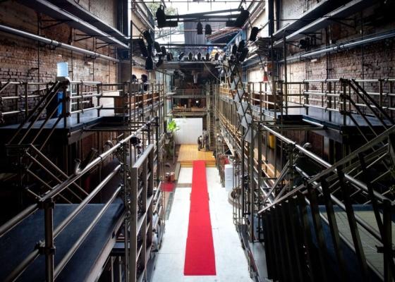 O Teatro Oficina, em São Paulo (SP), projetado pela arquiteta Lina Bo Bardi (12/08/2009)