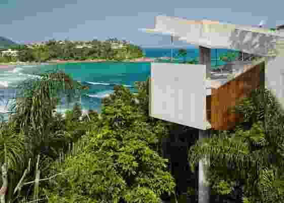 A Casa em Ubatuba, da SPBR Arquitetos, venceu o prêmio na categoria Residencial - Praia - Nelson Kon / UOL