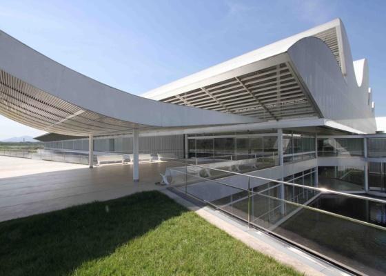 Hospital Sarah Kubitschek do Rio de Janeiro, inaugurado em maio de 2009, é uma das obras mais recentes de Lelé - Andre Wissenbach / Divulgação
