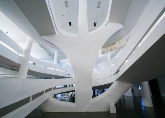 Pavilhão da Bienal, no Parque do Ibirapuera, São Paulo. A realização do próximo evento de arquitetura no edifício da Fundação Bienal de São Paulo está vetada - Tuca Vieira / Folhapress