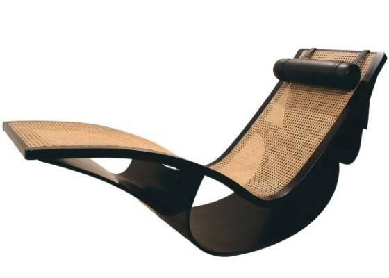 Chaise long criada por Oscar Niemeyer; peça está na mostra Os Modernos Brasileiros +1 - Divulgação