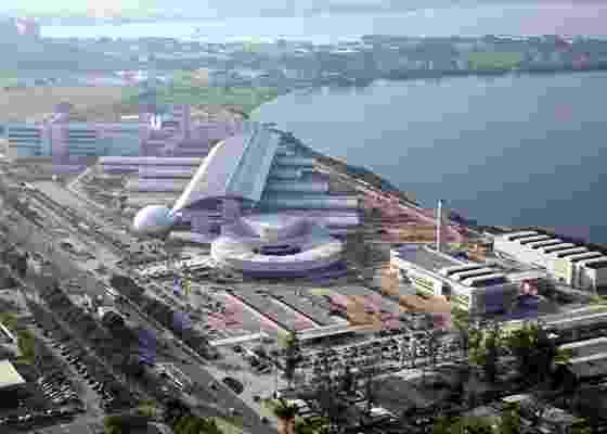Vista aérea do Centro de Pesquisas e Desenvolvimento da Petrobras após a obra de ampliação - Divulgação