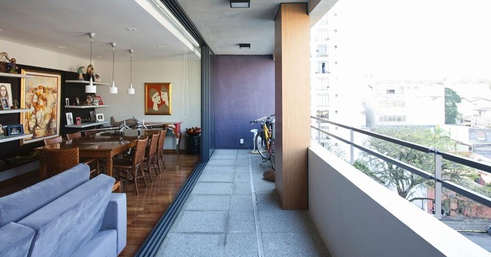 Vista de apartamento do Edifício Ourânia, em São Paulo, incorporação de IdeaZarvos e Pombeva, com projeto arquitetônico de Gui Mattos