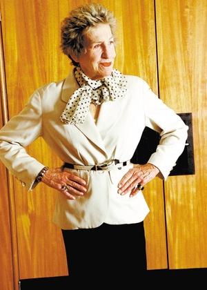 Andrée Putman, designer francesa - Ana Ottoni/Folhapress