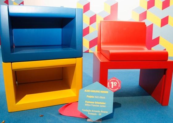 """Projeto Kid""""s Blok, o  vencedor do 5º Prêmio Tok&Stok de Design Universitário - Divulgação"""