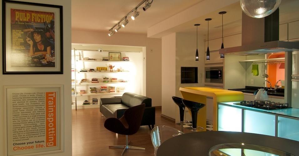 Apartamento em Porto Alegre reformado por Urbana Arquitetura