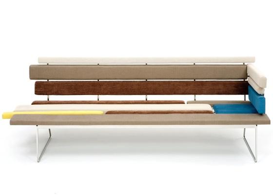 Criado por Gerson de Oliveira e Luciana Martins, sofá da linha Tiras, uma das peças que recebeu o 24º Prêmio Design Museu da Casa Brasileira, na categoria mobiliário - Divulgação