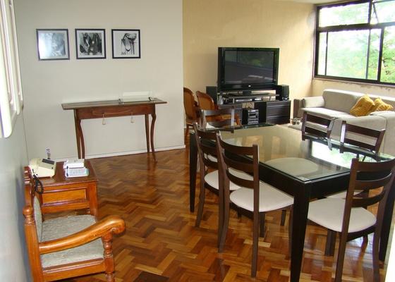 Sala da internauta Kátia Bitencourt, que pede ajuda para deixar o espaço mais aconchegante