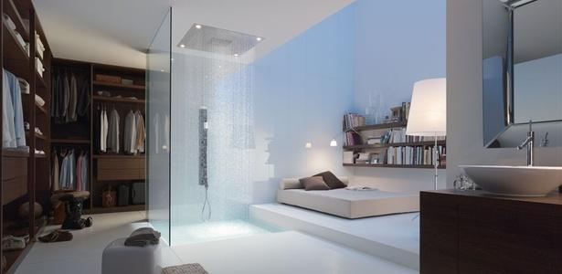 Chuveiro da linha Starck Shower Collection, da Axor, marca da alemã Hansgrohe, desenhada pelo designer francês Philippe Starck e apresentada na feira Kitchen and Bath, em São Paulo - Divulgação