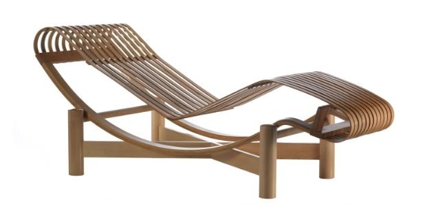 A chaise Tokyo, de Charlote Perriand para a Cassina - Divulgação