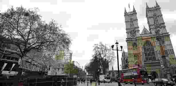 Abadia de Westminster, em Londres, palco de casamentos e coroações da monarquia - AFP