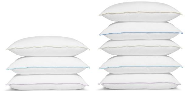 O travesseiro tem a função de deixar a cabeça, o pescoço e a coluna confortáveis durante o sono; ele deve preencher o vão que fica entre a cabeça e os ombros, e deixar a coluna alinhada - Getty Images