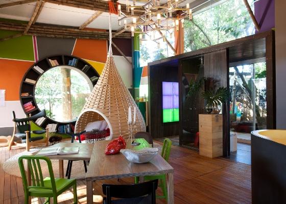 Cabana Urbana, de Fábio Galeazzo, venceu duas categorias do Prêmio Casa Cor 2011 - Marco Pinto/UOL
