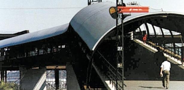 Estação do Largo 13 de Maio (1985), em São Paulo, projeto do arquiteto João Walter Toscano, que morreu no domingo, dia 5 de junho - Reprodução João Walter Toscano