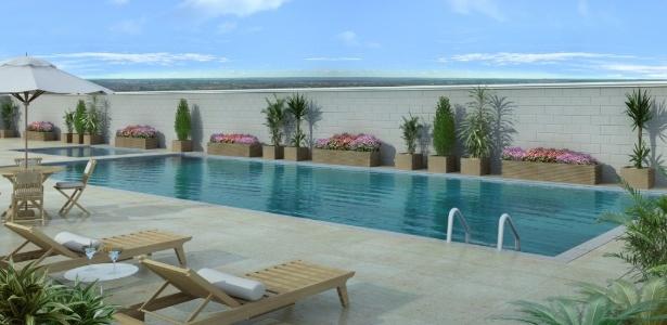 """Projeto prevê piscina, espaço """"kids"""", sala de massagem e lan house - Divulgação/BBC"""