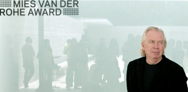 O arquiteto britânico David Chipperfield foi homenageado em Barcelona com o Prêmio de Arquitetura Contemporânea da UE - Mies van der Rohe, em reconhecimento pelo trabalho de reconstrução do Neues Museum de Berlim (20/06/2011)