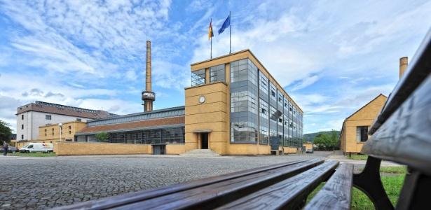 Fábrica Fagus, projetada por Walter Gropius entre 1911 e 1925, é um dos edifícios elevados a Patrimônio Mundial pela UNESCO (24/6/2011) - Peter Steffen/EFE