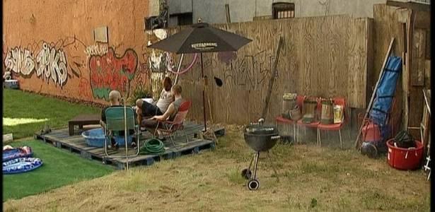 Empresa aluga jardim em Nova York como alternativa à falta de áreas verdes - Reprodução/BBC