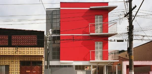 """Cohab """"Pedro Facchini"""", no bairro o Ipiranga, assinada pelo escritório Bacco Arquitetos Associados - Divulgação"""