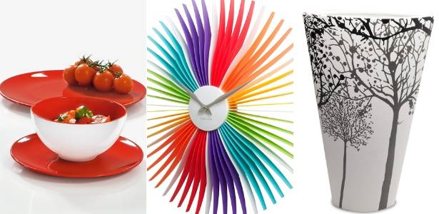A House & Gift Fair confirma a tendência da cor na decoração, utilidades e utensílios domésticos - Fotomontagem/Divulgação