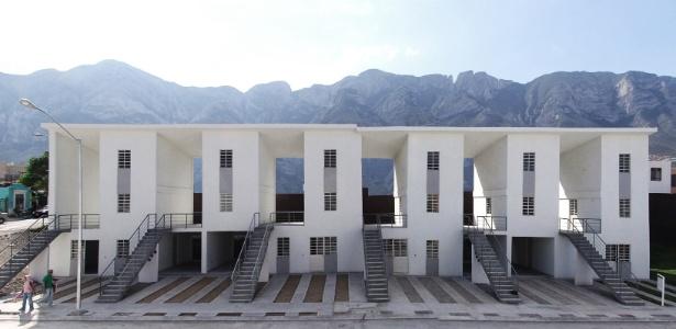 Projeto habitacional em Monterrey, México, do grupo de arquitetura chileno Elemental, um dos vencedores do prêmio de design dinamarquês INDEX: de 2011