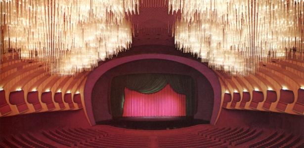 O Teatro Regio, em Turim, Italia, uma das melhores criações de Carlo Mollino