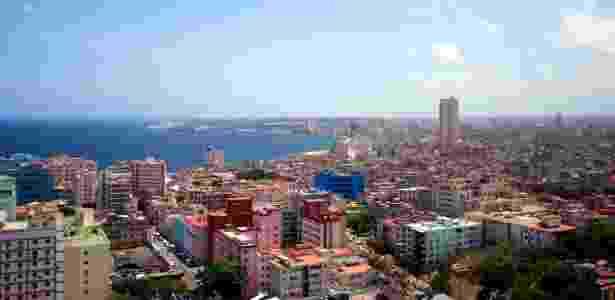 Vista da cidade de Havana, capital de Cuba - Douglas Cometti/Folha Imagem